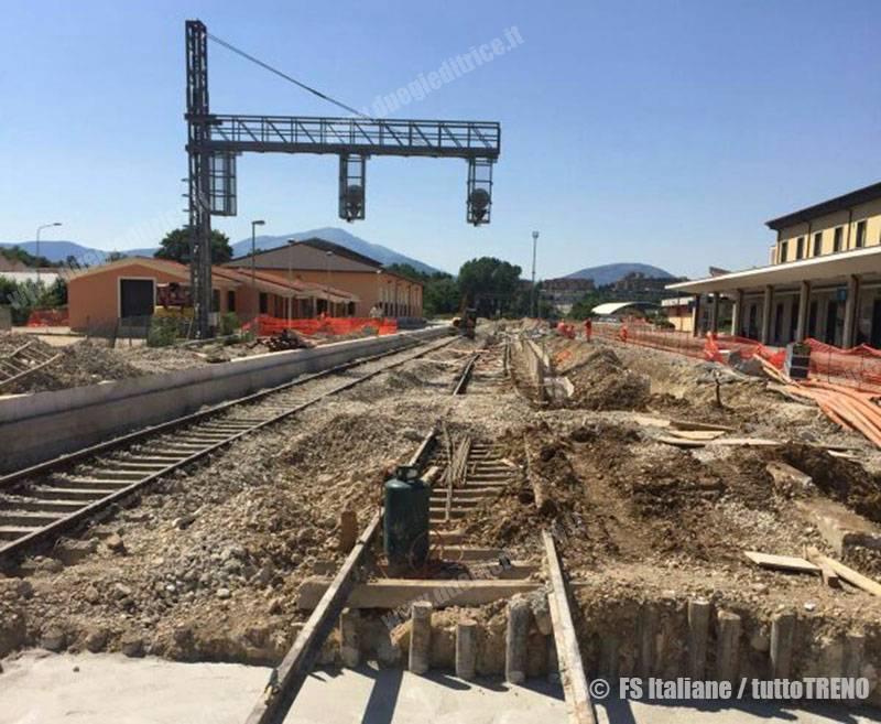 Cantieri sulla Sulmona–L'Aquila