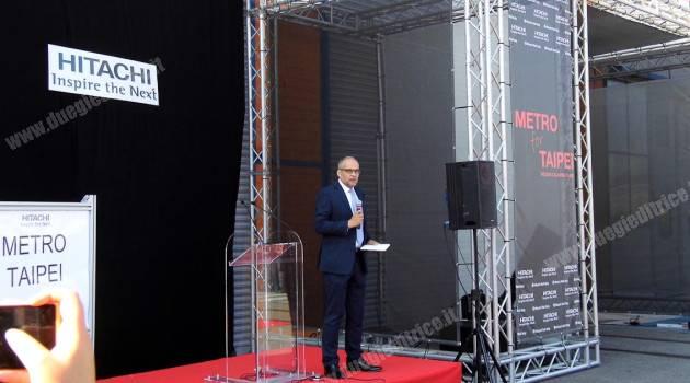 REGGIO CALABRIA: HITACHI RAIL ITALY PRESENTA IL NUOVO METRO PER TAIPEI
