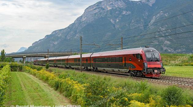 Railjet ÖBB in Italia