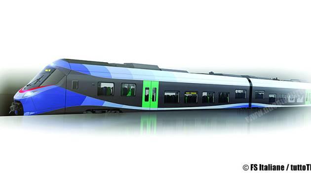 Trenitalia, pubblicati i rendering dei nuovi treni Hitachi e Alstom