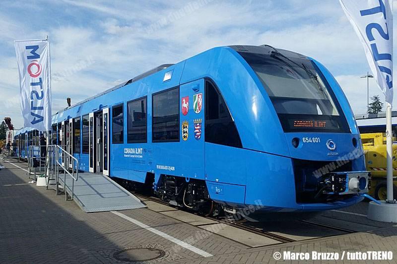 Coradia iLint: al via la produzione di treni a idrogeno