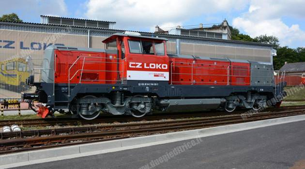 Innotrans 2016: CZ LOKO presenta la locomotiva ES1000