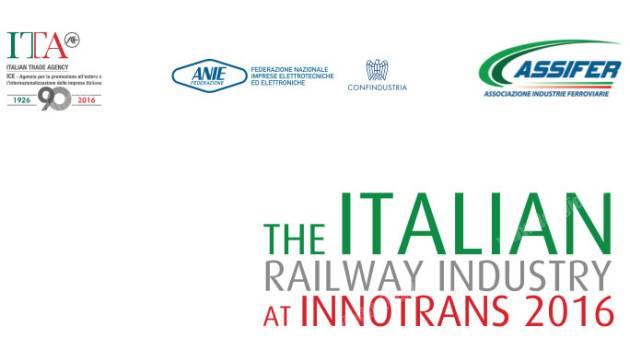 Innotrans 2016: ANIE ASSIFER con ICE per promuovere la tecnologia italiana a Berlino