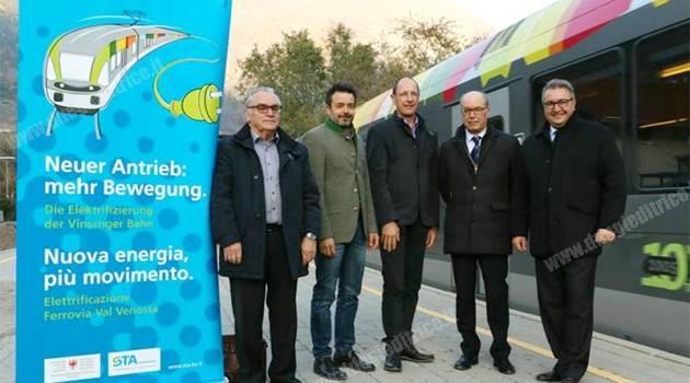 Elettrificazione ferrovia Val Venosta: la roadmap dei lavori