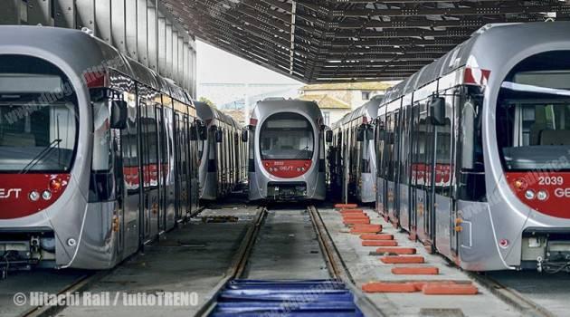 FIRENZE: HITACHI RAIL ITALY CONSEGNA L'ULTIMO TRAM DELLA LINEA 2