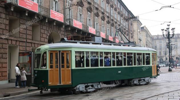 Torino: tram in festa