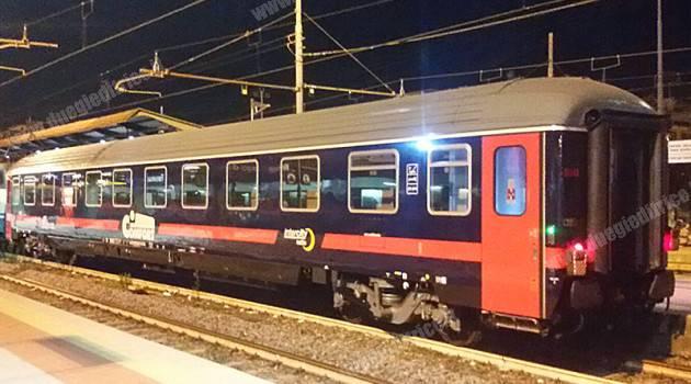 Trenitalia, ecco la prima proposta di livrea Intercity Notte