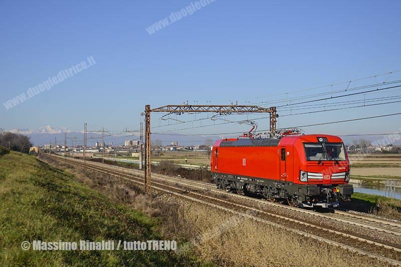 DB-Cargo-E191_14-Lis80173-Novara_ArquataScrivia-Linea-Alessandria_Novara-Novara-2016-11-30-RinaldiMassimo_tuttoTRENO_wwwduegieditriceit