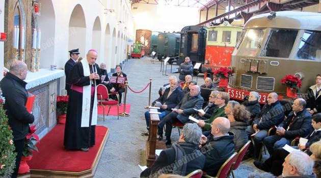 Museo Ferroviario di Pietrarsa: restaurata l'edicola votiva