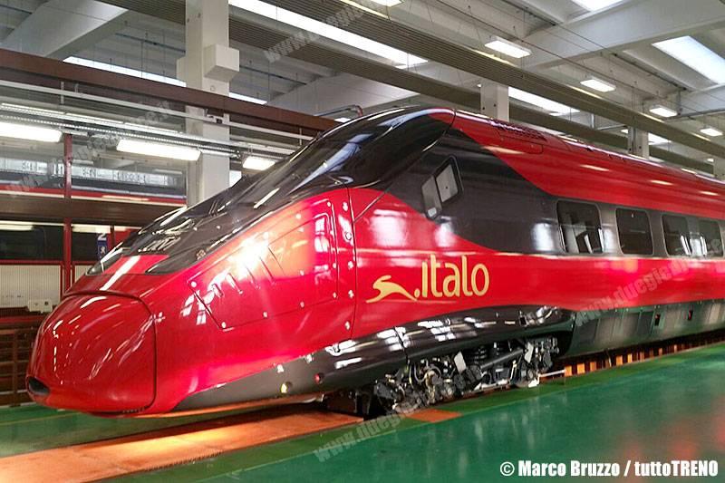 Italo e la francese Alstom svelano il primo veicolo del nuovo Pendolino
