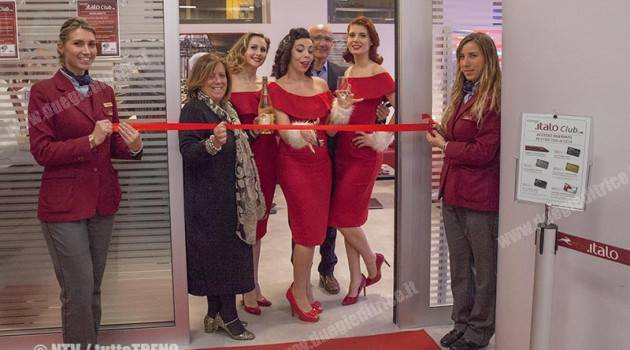 "NTV: inaugurata a Firenze la ""Lounge Italo Club"""
