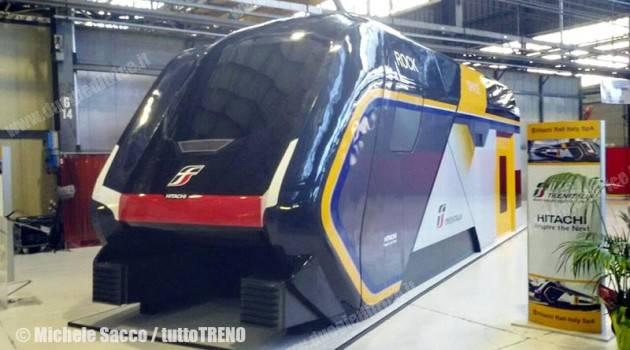Si chiama Rock il treno a doppio piano per Trenitalia