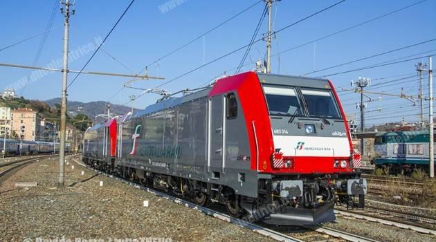 Mercitalia Rail: nuova livrea per nuove locomotive