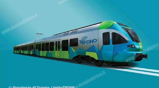 Nuova livrea Trentino Trasporti