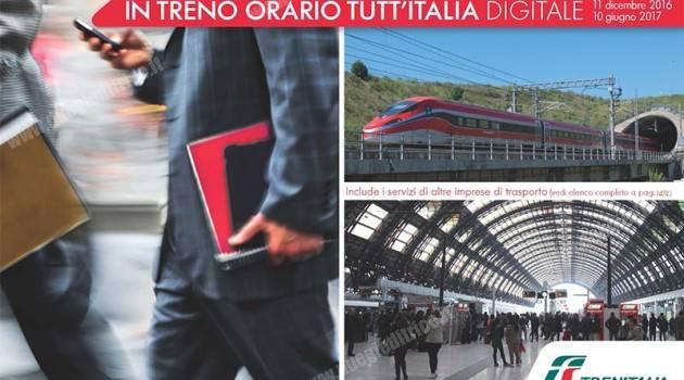 Trenitalia e non solo: orari 2017 in pdf