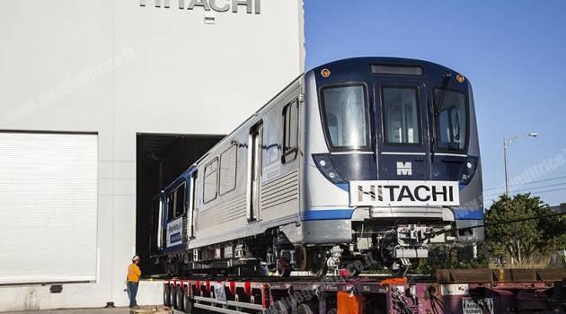 Hitachi Rail Italy consegna il primo treno a Miami Dade County