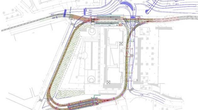 MM: nuovo capolinea tranviario di Certosa realizzato da Wegh Group