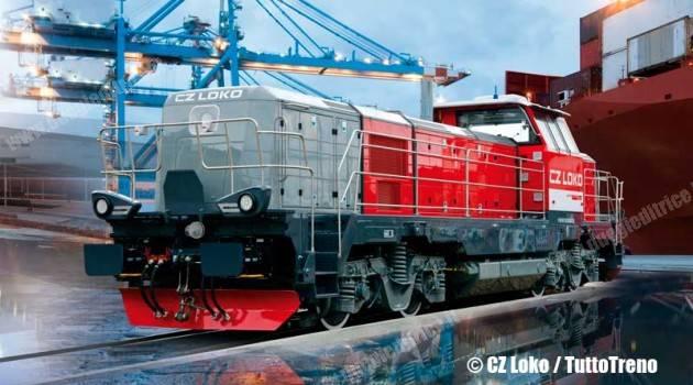 Locomotive 744 CZ Loko a Serfer