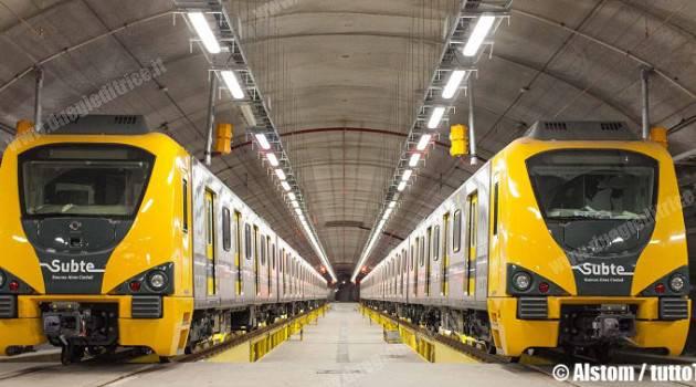 Alstom rinnoverà la linea aerea della metropolitana di Buenos Aires