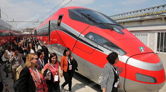 Women in motion, studentesse alle OGR di Vicenza in Frecciarossa1000