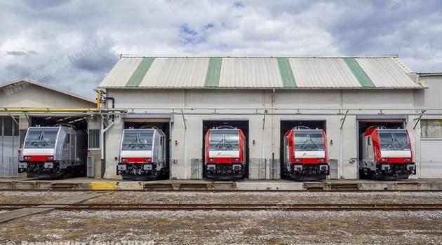 Bombardier: pronte per la consegna a MIR le E 483