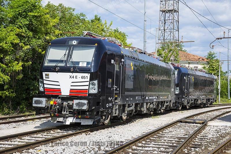 MRCE-X4E_652-MRCE-X4E_651-ServiceInRail-UdineParco-2017-05-22-EnricoCeron1_tuttoTRENO_wwwduegieditriceit