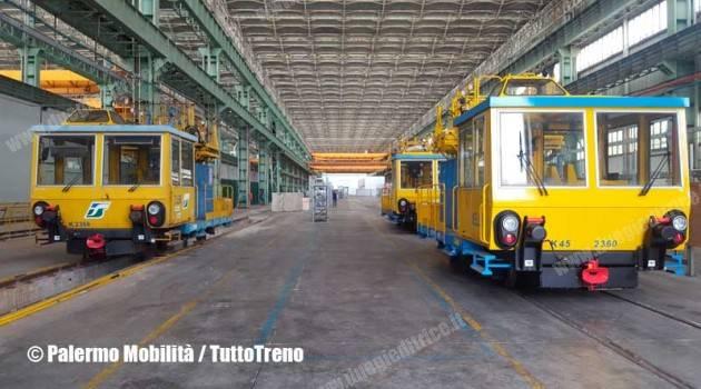 RFI: a Carini l'Officina Nazionale Attività Industriali