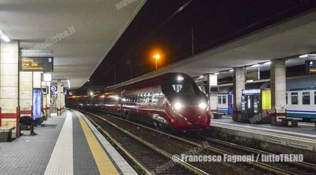 Trasferito da Savigliano a Milano il primo ETR 675 EVO di NTV