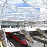 Cantiere GCF per la nuova stazione ferroviaria di Rabat Agdal