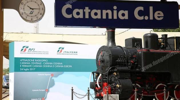 Catania: raddoppio e nuove fermate su rete RFI