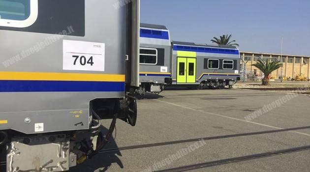 Hitachi: consegnate le ultime carrozze Vivalto