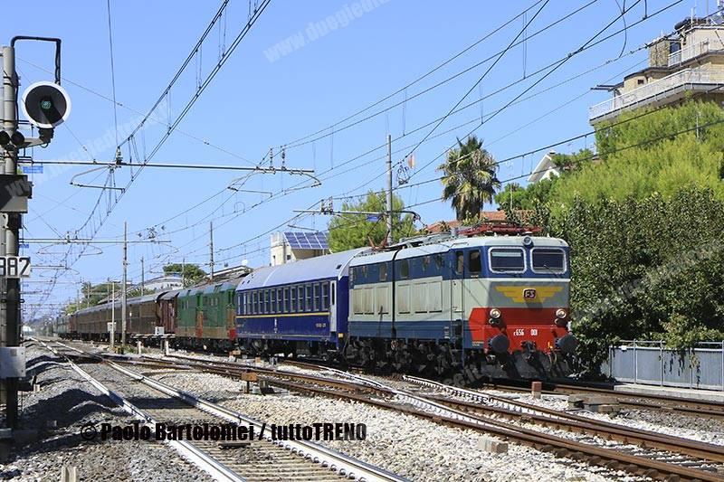 Sponz Fest 2017: giunto a Foggia il treno per i treni su Lioni