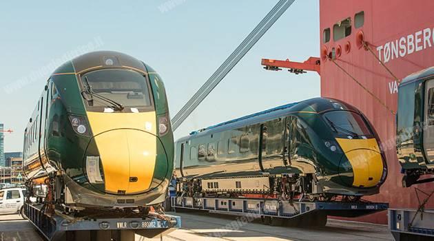 Hitachi, iniziati i test dei treni per Devon e Cornovaglia