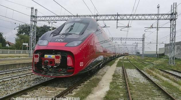 Trasferito l'ETR 675 03 per l'Expo Ferroviaria 2017