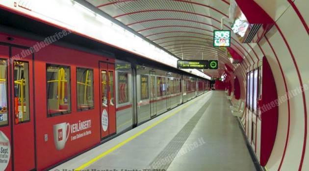 Vienna: inaugurato il prolungamento della linea U1 della metro