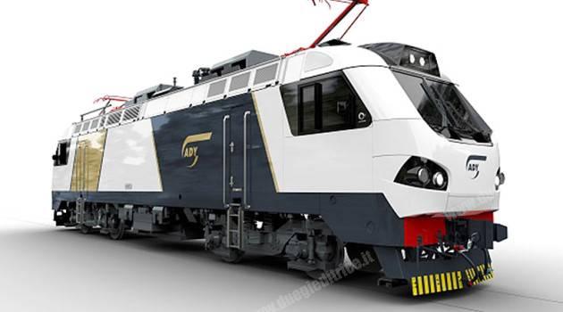 Alstom presenta la prima locomotiva per l'Azerbaijan