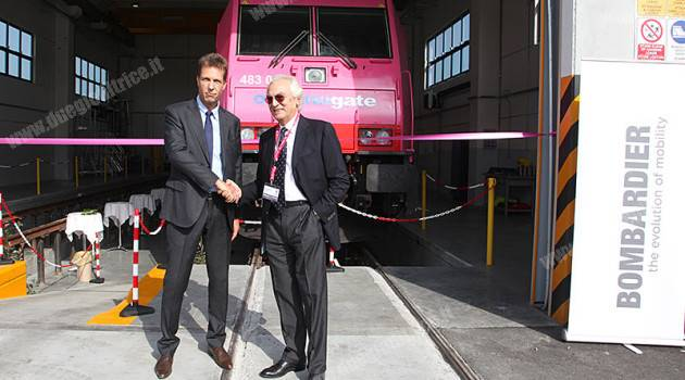 Bombardier, nuovo impianto di manutenzione a Melzo