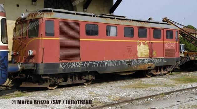 SVF recupera la locomotiva SV DE 424-04