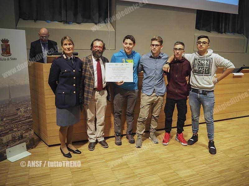 """Premiazione del concorso """"Prima…vera educazione ferroviaria"""""""
