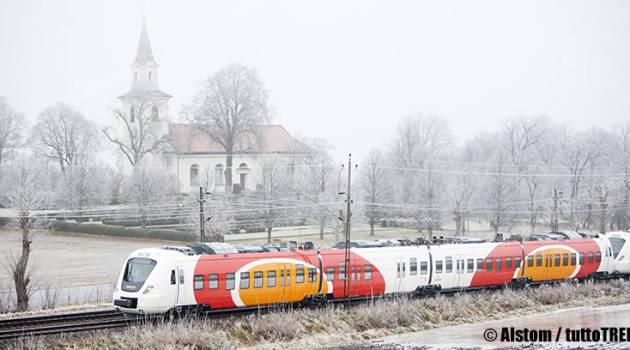 Svezia, 3 Coradia Nordic Alstom per Östgötatrafiken