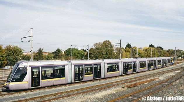 Dublino, consegnati i primi tram Citadis a 9 casse