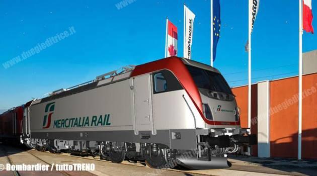 Polo Mercitalia: 125 nuovi locomotive elettriche per potenziare il trasporto merci in Italia ed in Europa