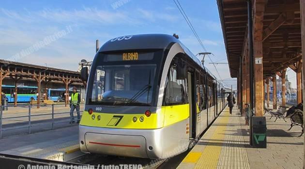 Tram di Bergamo: studio per il prolungamento