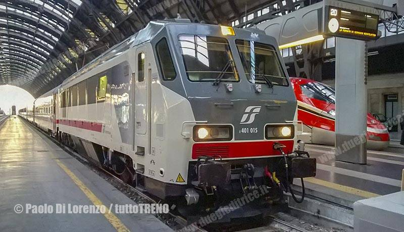 Trenitalia, ecco il nuovo orario invernale: Milano servita da 176