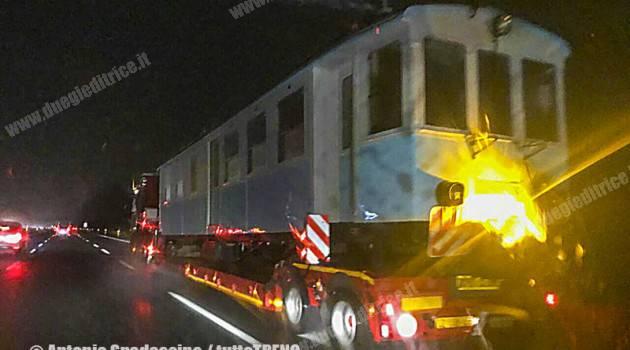 La A2 della Genova–Casella in viaggio verso casa