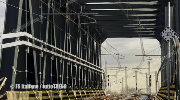 Bologna: inaugurata ufficialmente la bretella da Bologna AV per Padova
