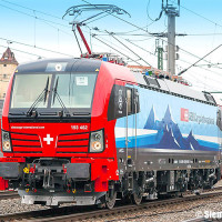 Nuova livrea per le Vectron SBB Cargo International