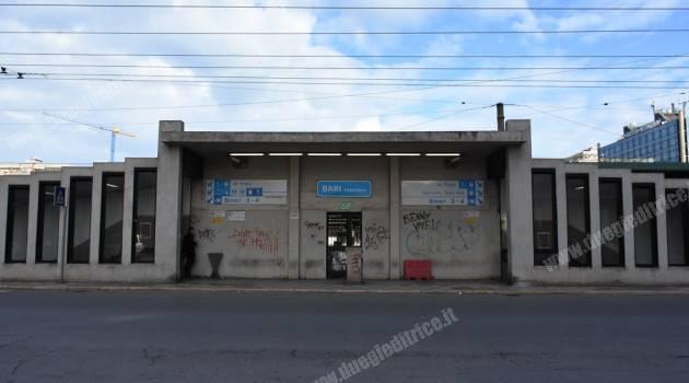 Bari Centrale: iniziano i lavori di riqualificazione