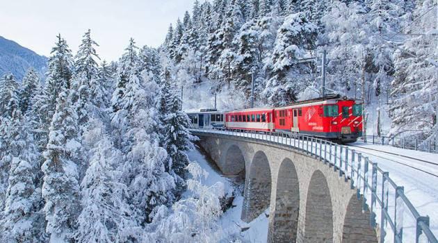 Tempesta Burglind, perturbazioni su Gotthard Bahn e Gornergrat Bahn