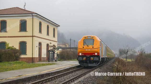 Dinazzano Po: D 284 in servizio
